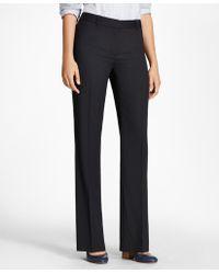 Brooks Brothers - Wool Wide-leg Pants - Lyst