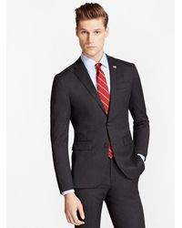 Brooks Brothers | Milano Fit Two-button 1818 Suit | Lyst