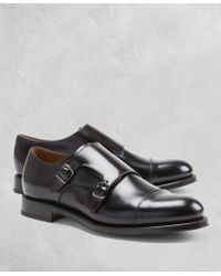 Brooks Brothers | Golden Fleece® Double Monk Straps | Lyst