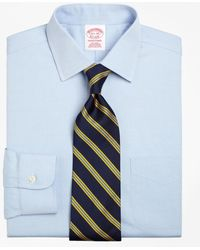 Brooks Brothers - Non-iron Traditional Fit Spread Collar Dress Shirt - Lyst