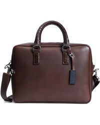 Brooks Brothers - Harrys Of London® Alligator Trim Briefcase - Lyst