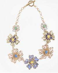 Brooks Brothers - Floral Necklace - Lyst