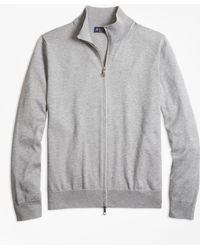 Brooks Brothers - Supima® Cotton Full-zip Cardigan - Lyst