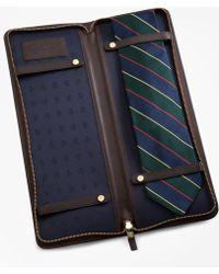 Brooks Brothers - Leather Tie Case - Lyst