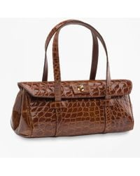 Brooks Brothers - Alligator Mini Satchel - Lyst