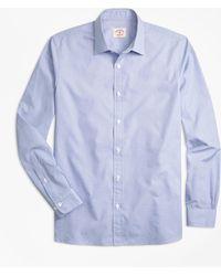 Brooks Brothers - Nine-to-nine Dobby-stripe Shirt - Lyst