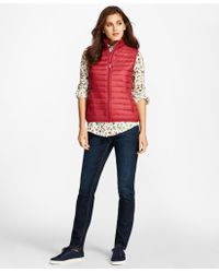 Brooks Brothers - Puffer Vest - Lyst