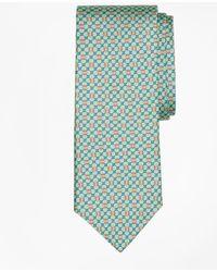 Brooks Brothers - Flag And Raft Print Tie - Lyst