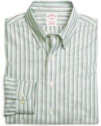 Brooks Brothers - Supima® Cotton Non-iron Regular Fit Tonal Stripe Twill Sport Shirt - Lyst