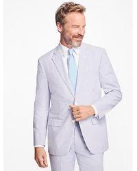 Brooks Brothers - Madison Fit Stripe Seersucker Suit - Lyst