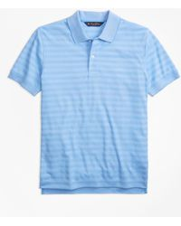 Brooks Brothers - Original Fit Textured Stripe Polo Shirt - Lyst