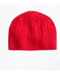 Brooks Brothers - Cable-knit Cashmere Hat - Lyst