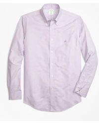 Brooks Brothers - Non-iron Regent Fit Supima® Cotton Oxford Sport Shirt - Lyst