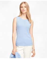 Brooks Brothers - Cashmere Sleeveless Shell - Lyst