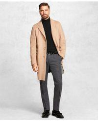 Brooks Brothers - Golden Fleece® Double-faced Topcoat - Lyst