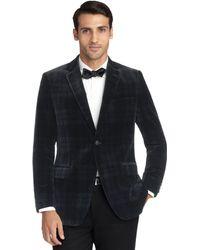 Brooks Brothers - Fitzgerald Fit Velvet Blackwatch Tuxedo Jacket - Lyst
