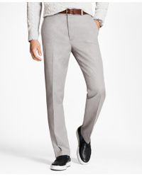 Brooks Brothers - Clark Fit Houndstooth Advantage Chinos® - Lyst