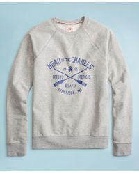 deae3a83898e90 Brooks Brothers - 2018 Head Of The Charles Regatta French Terry Sweatshirt  - Lyst
