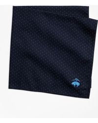 Brooks Brothers - Mini-polka Dot Pocket Square - Lyst