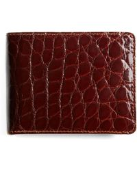 Brooks Brothers - American Alligator Wallet - Lyst
