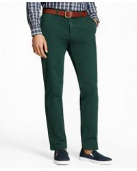 Brooks Brothers - Slim-fit Garment-dyed Stretch Chinos - Lyst