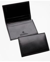 Brooks Brothers - French Calfskin Business Card Case - Lyst