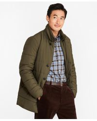 Brooks Brothers - Water-repellent Quilted Topcoat - Lyst