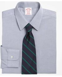 Brooks Brothers | Non-iron Madison Fit Point Collar Dress Shirt | Lyst