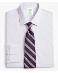 Brooks Brothers - Milano Slim-fit Dress Shirt, Non-iron Micro-check - Lyst