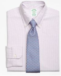Brooks Brothers | Milano Fit Original Polo® Button-down Oxford Bengal Stripe Dress Shirt | Lyst