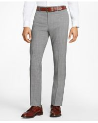 Brooks Brothers - Tick-weave Wool Suit Trousers - Lyst