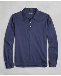 Brooks Brothers - Golden Fleece® Long-sleeve Polo Shirt - Lyst