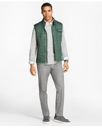 Brooks Brothers - Diamond-quilted Vest - Lyst
