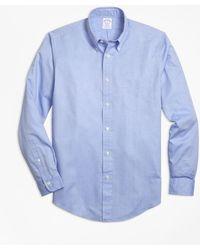 Brooks Brothers - Regent Fit Dobby Micro-diamond Sport Shirt - Lyst