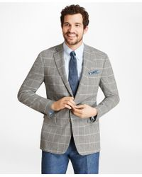 Brooks Brothers - Regent Fit Brookscool® Check With Deco Sport Coat - Lyst