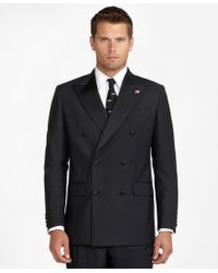 Brooks Brothers - Double-breasted Tuxedo Jacket - Lyst