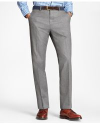 Brooks Brothers - Neat Cotton Trousers - Lyst