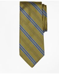 Brooks Brothers - Herringbone Double Stripe Tie - Lyst
