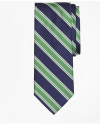 Brooks Brothers - Double Framed Stripe Tie - Lyst