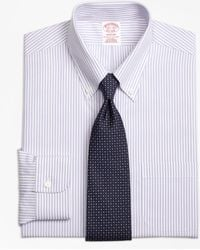 Brooks Brothers - Madison Classic-fit Dress Shirt, Non-iron Bengal Stripe - Lyst