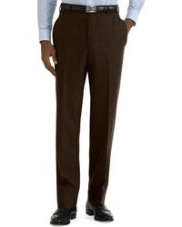 Brooks Brothers - Milano Fit Plain-front Flannel Trousers - Lyst