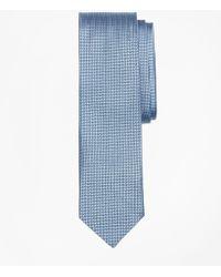 Brooks Brothers - Textured Print Silk Tie - Lyst