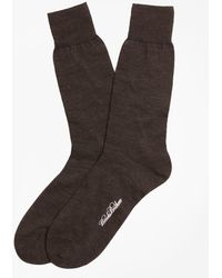 Brooks Brothers - Merino Wool Jersey Crew Socks - Lyst