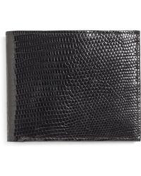 Brooks Brothers - Lizard Wallet - Lyst