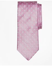 Brooks Brothers - Herringbone Ground Flower Tie - Lyst