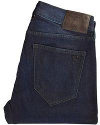 True Religion - Dark Passage Rocco Skinny Jeans - Lyst