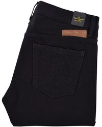 Vivienne Westwood Anglomania - Harri Black Destroyed Jeans - Lyst