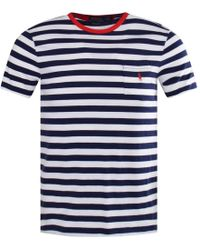 Polo Ralph Lauren - Striped Pocket T-shirt - Lyst