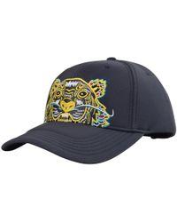 KENZO - Dark Grey Dragon Tiger Cap - Lyst