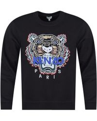 KENZO - Black Tiger Sweatshirt - Lyst